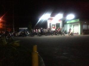 Foto antri bensin