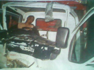 Kusnandar (51),sopir truck yang di tabrak indra maulana