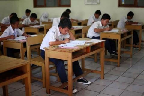 Ilustrasi Ujian Nasional SMP. (solopos.com)